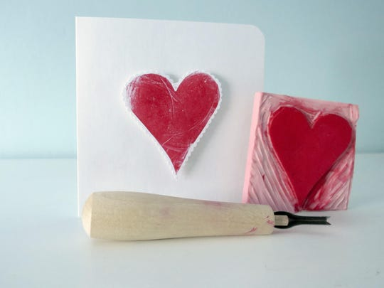 Crafts Whichcraft Valentine Stamps