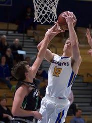 Senior Kyle Clow received Scholar Athlete status in