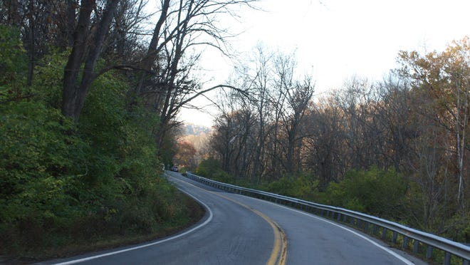 """Sleepy Hollow Road winds through the woods where the Kenton County Clerk has set up a """"ghost precinct"""" where no voters will cast a ballot."""