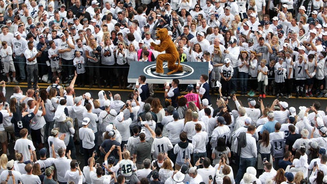 Penn State fans were ready for Michigan.