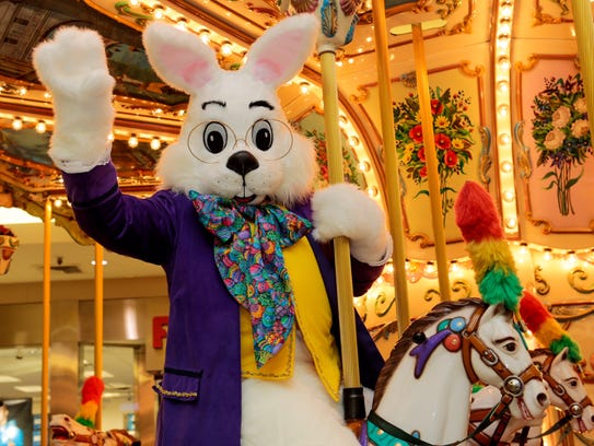 The Easter Bunny will arrive at Eastdale Mall on March