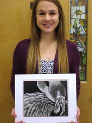 Jessica Schwabe's entry will be displayed at the 94th