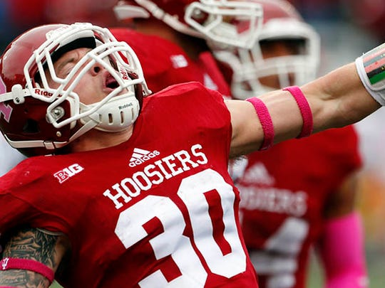 IU safety Chase Dutra attended Brownsburg.