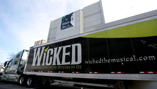 """The national tour of """"Wicked"""" played in Springfield for a run at Juanita K. Hammons Hall Feb. 3 through Feb. 14."""
