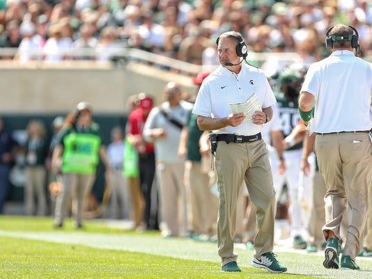 NCAA Football: Bowling Green at Michigan State