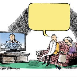 What's happening in this cartoon? Tell us and you could be the next winner!