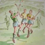 Hurling Match by Thomas Murray.