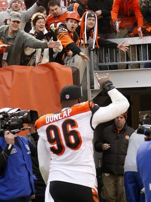 Carlos Dunlap and the Bengals could change their own reality Monday.