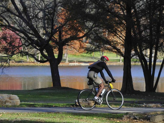 Shelby Bottoms Nature Center at 1900 Davidson St., will have a family bike ride with Metro Parks Police at 10 a.m. Saturday.