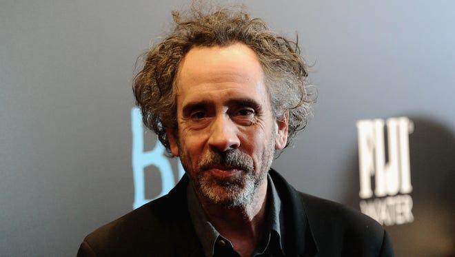 Director Tim Burton in December in New York.