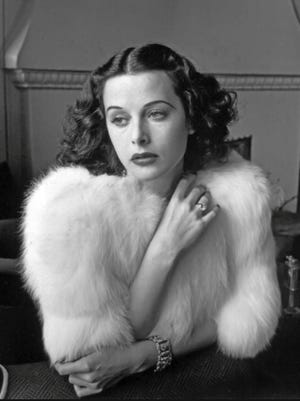 """Hedy Lamarr starred in such films as """"Samson and Delilah"""" (1949), """"Tortilla Flat"""" (1942) and """"Boom Town"""" (1940)."""