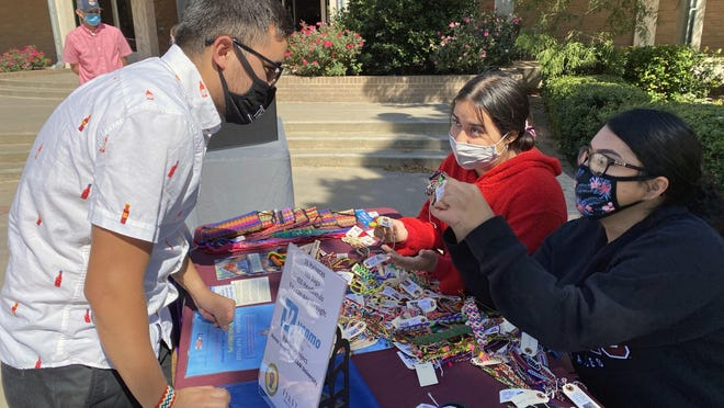 West Texas A&M students will sell crafts in partnership with the Pulsera Project outside the Jack B. Kelley Student Center on Mondays, Wednesdays and Thursdays through Oct. 21.