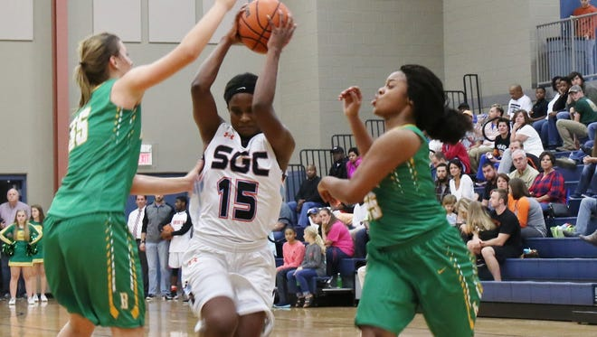 South Gibson's Christen King and the Lady Hornets play Peabody and TCA this week.