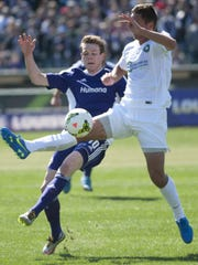 Louisville City FC Midfielder Magnus Rasmussen and
