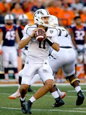 Western Michigan Broncos quarterback Zach Terrell.
