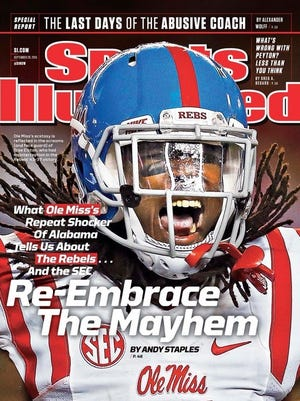 Sports Illustrated cover with Trae Elston