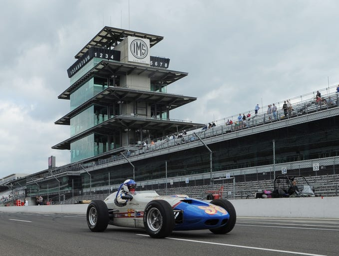 The 1963 500 mile race  winner returns to the pits Sunday June 8, 2014 at the SVRA  Brickyard Invitational vintage race event at the Indianapolis Motor Speedway