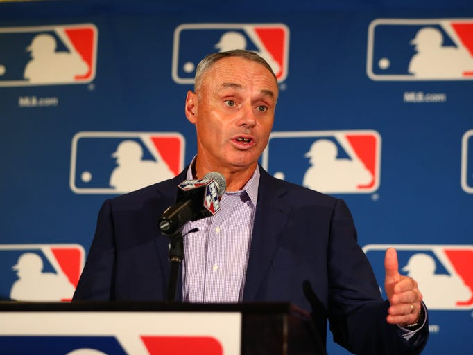 Some of the more notable people: 1. Rob Manfred, MLB