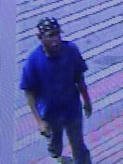 Surveillance photo of a man who robbed an FSNB bank