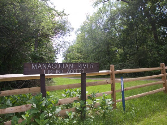 A suicidal man was rescued near this Manasquan River access in Howell