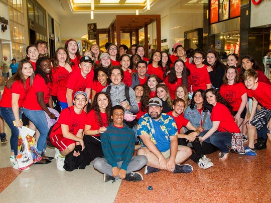 The BergenPAC Performing Arts School performed a flash