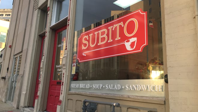 Downtown Indy's new Subito, 44 Virginia Ave., is a quick-service, all take-out spot for soup, salads and sandwiches. Find it  behind Fogo de Chao Brazilian steakhouse and across from 500 Festival headquarters.