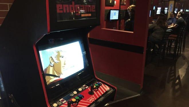 Neo-Geo arcade cabinet at Endgame Bar.