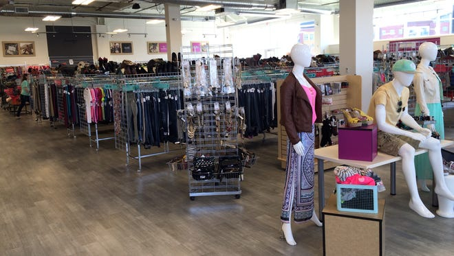 Clothing and accessories resale shop Plato's Closet has moved into a bigger, brighter space in West Glen Town Center in West Des Moines.