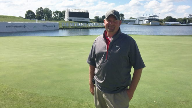 Crooked Stick superintendent Jake Gargasz has been with the club for six years and says he's only played 27 holes of golf.