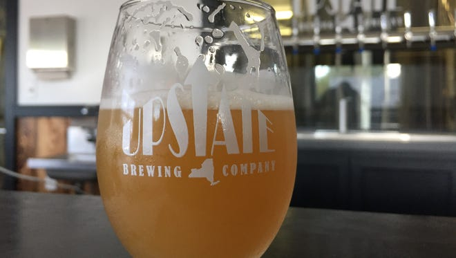 Upstate Brewing's 2016 Ale is a bright and juicy New England-style India pale ale.
