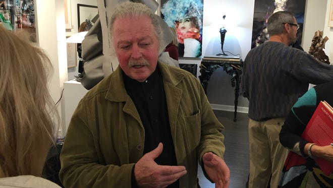 "Albert Paley discusses the new exhibit ""Albert and Frances Paley"" at The Nan Miller Gallery."