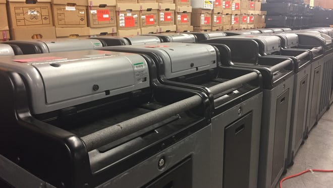 Greene County Clerk Shane Schoeller said the county intends to replace voting equipment, which has been in use since 2006.