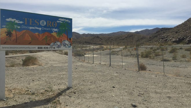 The Tesoro Property, along Highway 111 in Cathedral City.