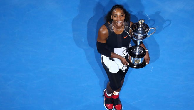 Serena Williams won the Australian Open in 2017 while pregnant. Will she be back to defend her title next month?