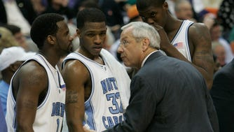 North Carolina men's basketball coach Roy Williams has frequently defended his program in the face of academic fraud allegations.