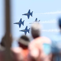 Blue Angels Air Show 2018: Scenes from the Blues' performance