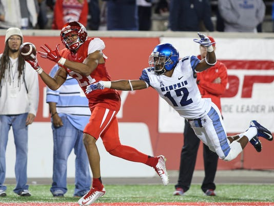 NCAA Football: Memphis at Houston