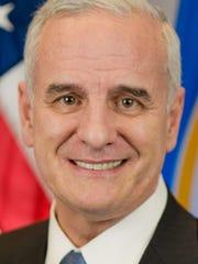 Gov. Mark Dayton.