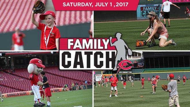 Reds' Family Catch