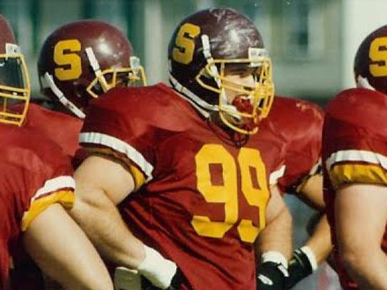 Dan Quinn (99) is a Salisbury University graduate and