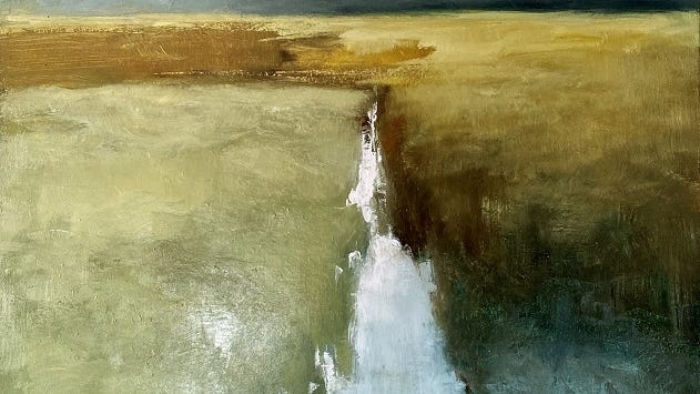 """""""Up the Creek"""" by Julia Purinton."""