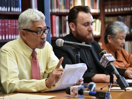 In this October 2016 file photo, Dr. Ricardo Eusebio