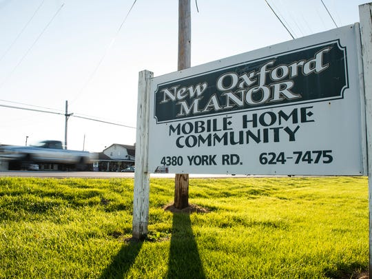 Residents have criticized Carlyle Group, the owners of New Oxford Manor mobile home park, for water quality issues, including boil-water notices. Joseph Weber, Carlyle Group's chief operating officer, said the company spent more than $250,000 on repairs to New Oxford Manor, including drilling new wells to increase the source supply and adding a new water storage unit to the park.