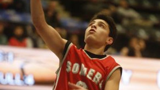 Gio Tradito and Somers advanced in the Class A playoffs