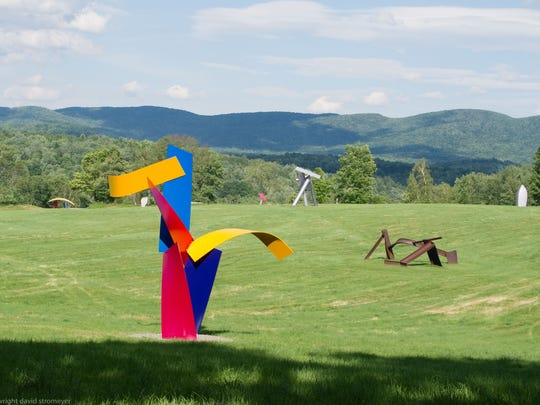 """Jitterbug"" by David Stromeyer at Cold Hollow Sculpture Park in Enosburg Falls"