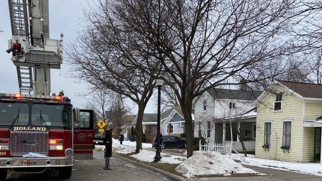 Holland firefighters responded to call of a residential fire early Thursday, Feb. 4, in the 200 block of West Ninth Street.