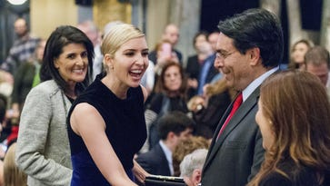 Ivanka Trump, Justin Trudeau take in musical about embracing visitors