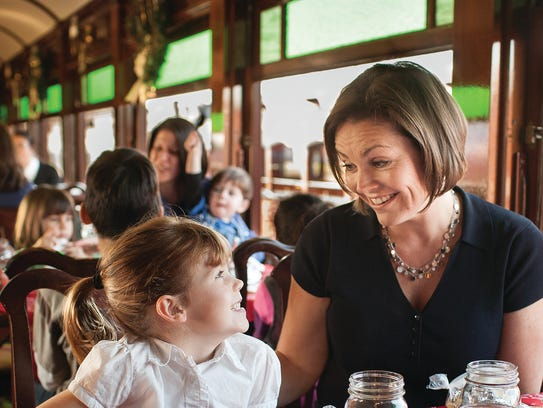 Moms can enjoy a a traditional Lancaster County meal