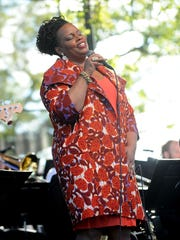 Dianne Reeves performs at Orchestra Hall at the Max on Thursday night.