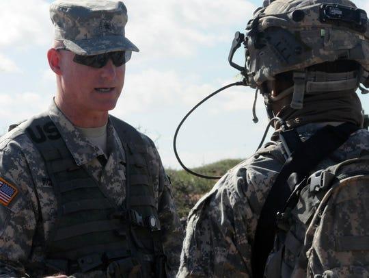 Brig. Gen. Terry McKenrick, commanding general for